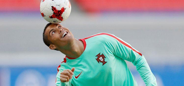 Cristiano Ronaldo ya entrena con Portugal tras merecidas vacaciones