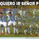 Los memes destrozan a Argentina, Messi y a Caballero