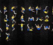 Insólita burla: Crean alfabeto con las caídas de Neymar