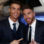 La dedicatoria de Sergio Ramos a Cristiano Ronaldo