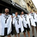 Más de medio millón de camisetas vendidas de Cristiano Ronaldo