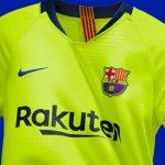 El Barcelona presenta su segunda camiseta para la temporada 2018-2019