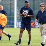 Así fue el primer entrenamiento de David Suazo con el Brescia FC