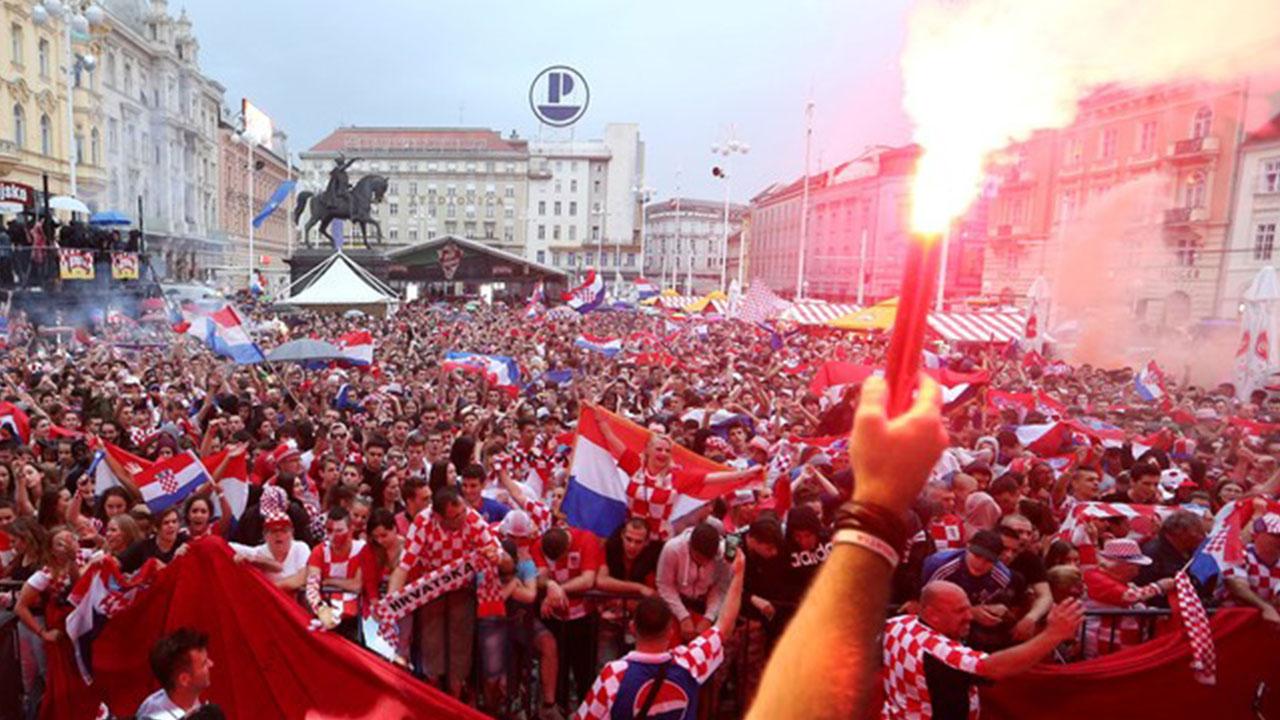 Locura en Zagreb tras pase de Croacia a la final