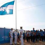 La Bandera de Honduras fue izada en Barranquilla