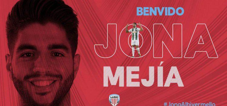 Jona Mejía, nuevo jugador del CD Lugo de España