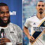 La bienvenida de Ibrahimovic a LeBron James: «Ahora Los Ángeles ya tiene un Dios y un Rey»
