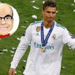MisterChip elogia a Cristiano por su histórico paso en el Real Madrid