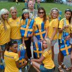 Las suecas, las mujeres más bellas del Mundial