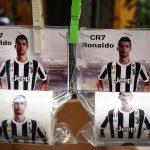 Lo hicieron papel higiénico a Cristiano Ronaldo