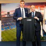 Andriy Lunin presentado como nuevo portero del Real Madrid