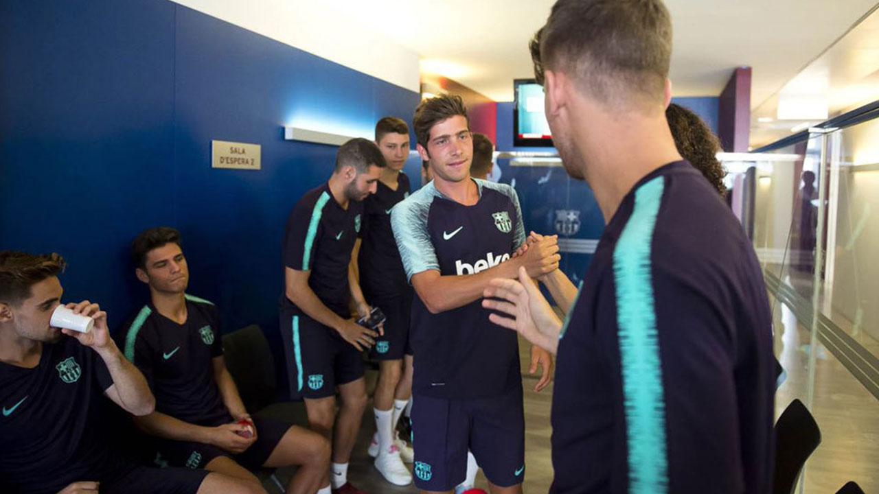 El Barcelona inicia la pretemporada