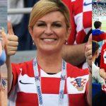Presidenta de Croacia seguirá robando suspiros en la final del Mundial