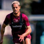 «Chicharito» estrena look y marca gol con West Ham