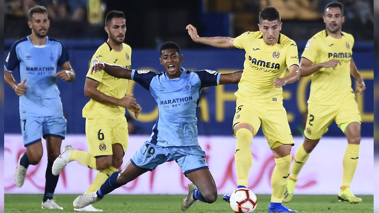 """El Girona FC del """"Choco"""" Lozano logra su primer triunfo"""