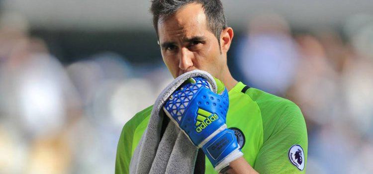 Claudio Bravo sufre una grave lesión