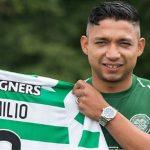 Emilio Izaguirre es presentado en el Celtic de Escocia