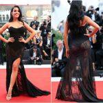 Georgina Rodríguez deslumbra en la alfombra roja de Venecia