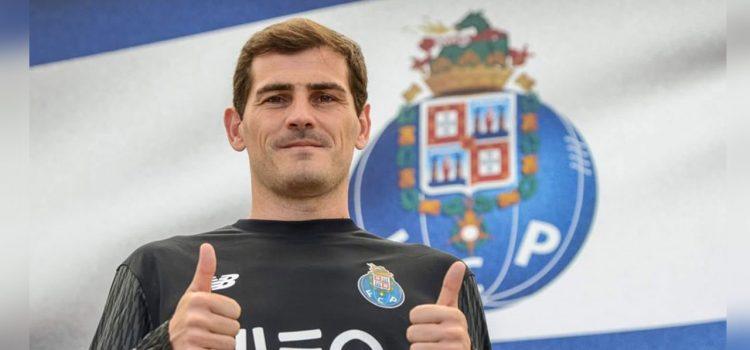 """Iker Casillas: """"Me gustaría retirarme en el Oporto"""""""