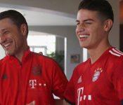 James Rodríguez en líos con el técnico Niko Kovac