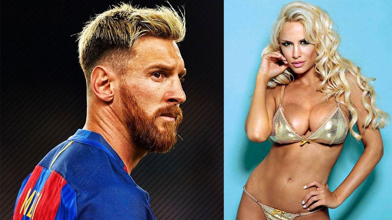Luciana Salazar y Leo Messi habrían tenido un apasionado romance