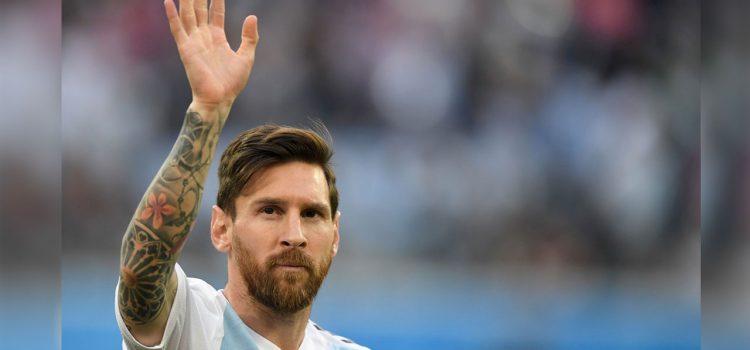 Messi renuncia a la selección de Argentina temporalmente