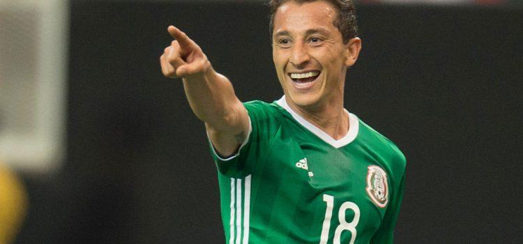 Andrés Guardado protagoniza serie de la liga española