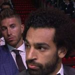 Así reaccionó Salah cuando Sergio Ramos le tocó el hombro