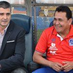 Diego Vázquez no le ha ganado ningún clásico a Nahún Espinoza