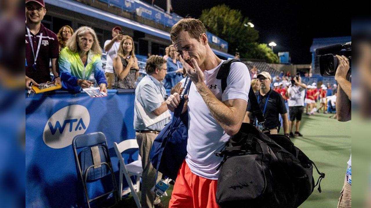 El conmovedor llanto del tenista Andy Murray tras reencontrarse con la victoria