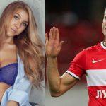 Esposa del capitán del Spartak de Moscú lo descubre con su amante