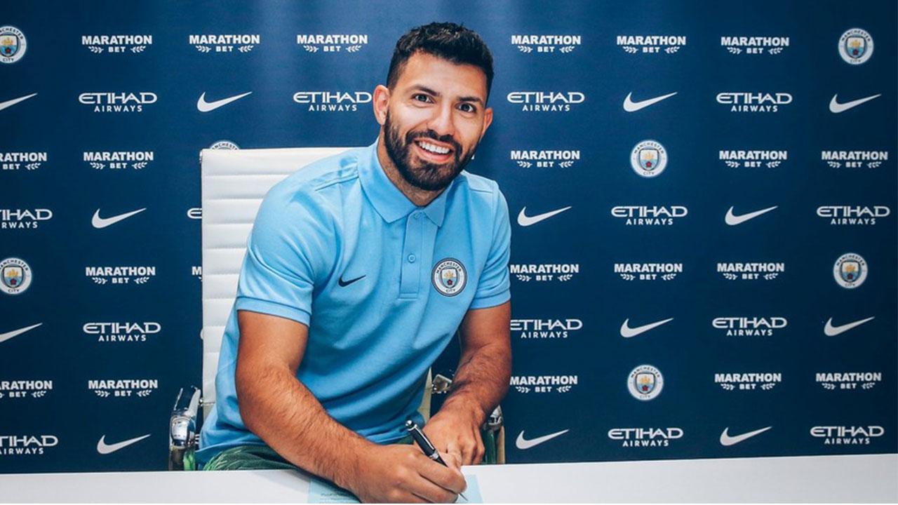 """Sergio """"Kun"""" Agüero renueva contrato con Manchester City"""