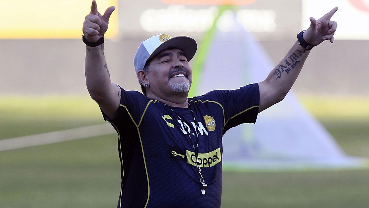 Narcocorrido a Maradona es viral en México
