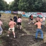 Mira la pelea entre ultras de equipos ingleses que se hizo viral