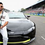 """Sergio """"Kun"""" Agüero estuvo presente en la Fórmula 1"""