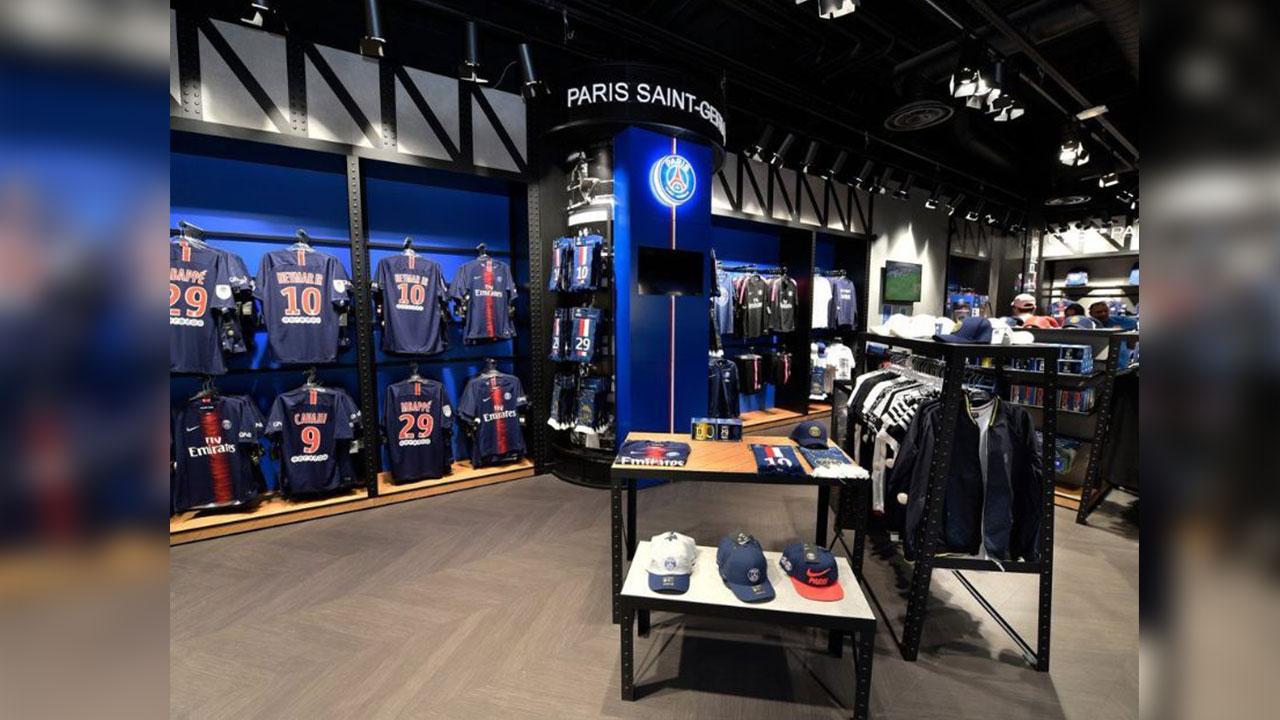 El PSG es el primer equipo en abrir una tienda oficial en Japón