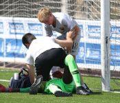 El hijo de Totti renuncia a marcar un gol para atender al portero rival
