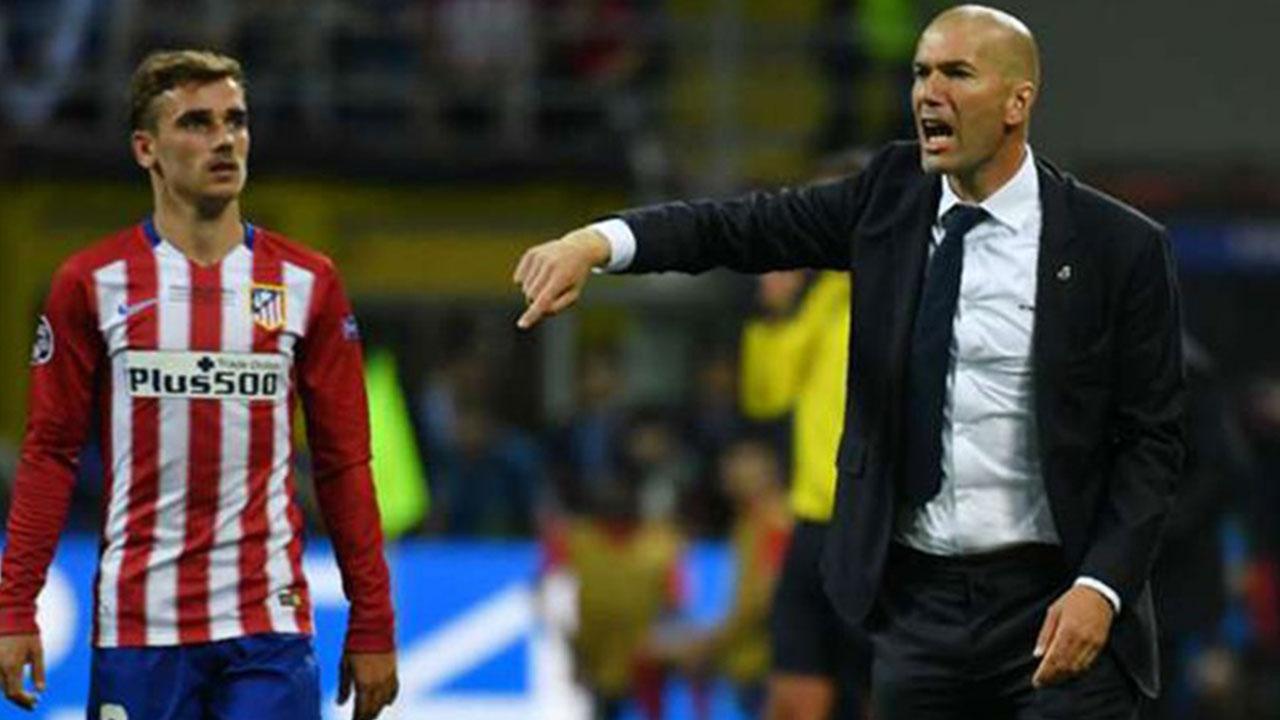 Zidane quiere a Griezmann en el Manchester United