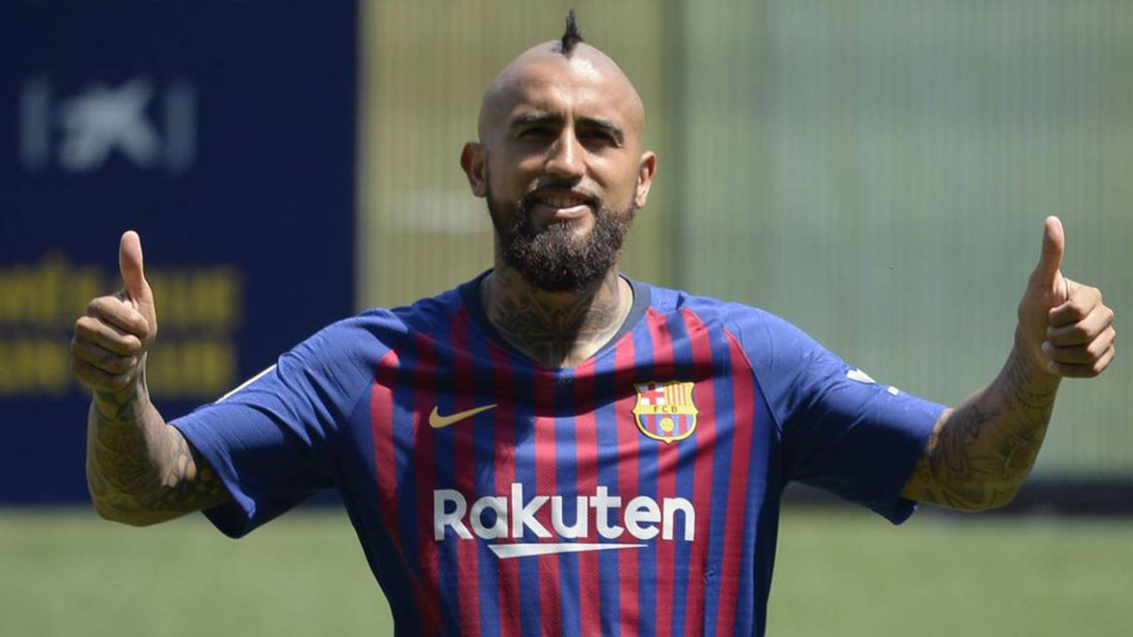 Barcelona exige respeto a Arturo Vidal