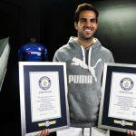 Cesc Fábregas entra en el libro de los récords Guinness por sus asistencias