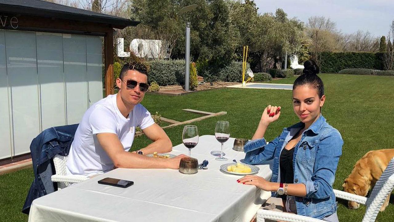 Cristiano se refugia con su novia en Lisboa