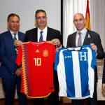 CONMEBOL y Fenafuth cierran acuerdo de colaboración con Federación Española