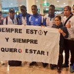 Calurosa bienvenida recibió la Selección de Honduras en España