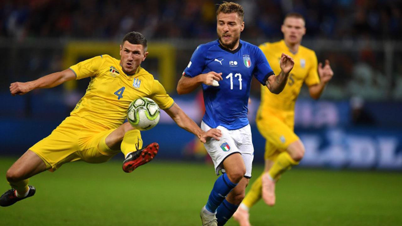 Italia empata con Ucrania