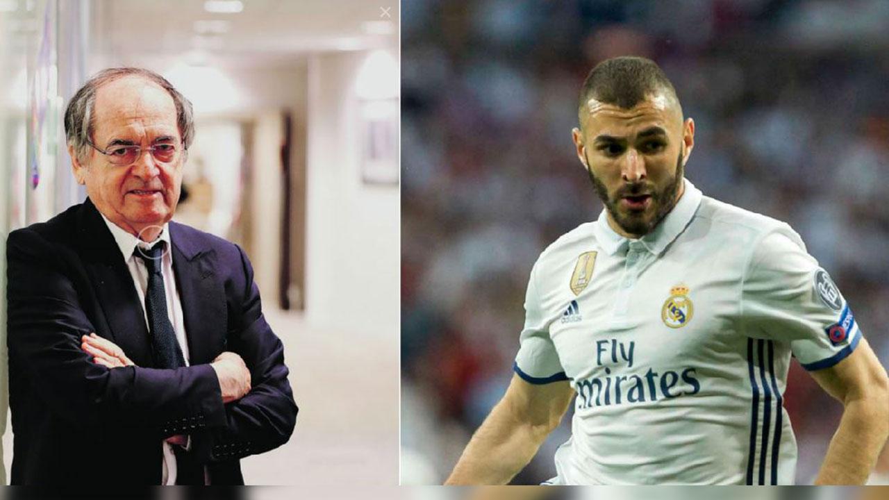 """Benzema pide al presidente de la Federación Francesa que lo deje """"tranquilo"""""""