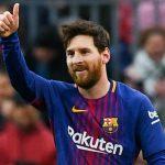 Messi, mejor jugador del mes en la liga española