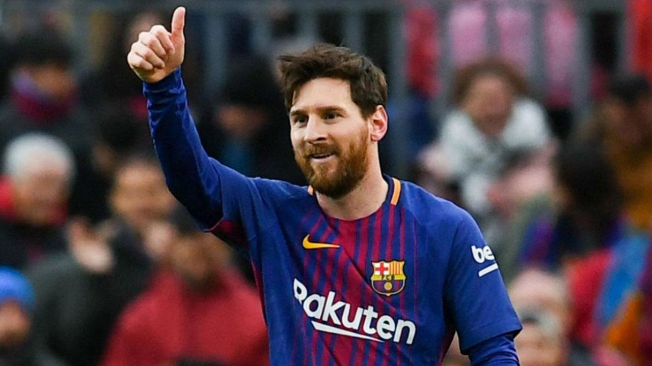 Messi, mejor jugador en septiembre de la liga española