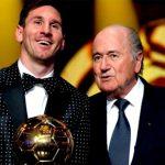 Blatter asegura que su yerno ideal sería Messi