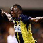 Deslumbrante estreno goleador de Usain Bolt en Australia (VÍDEO)