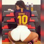 Suzy Cortez, la Miss Bumbum que está enamorada de Messi y el Barcelona